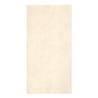 Vintage Neutral Parchment Beige Antique Paper Temp Photo Cards