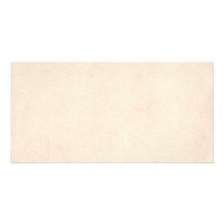 Vintage Neutral Parchment Beige Antique Paper Temp Picture Card