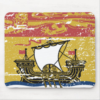 Vintage NEW BRUNSWICK Flag Mouse Pad