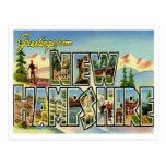 Vintage New Hampshire Tarjeta Postal