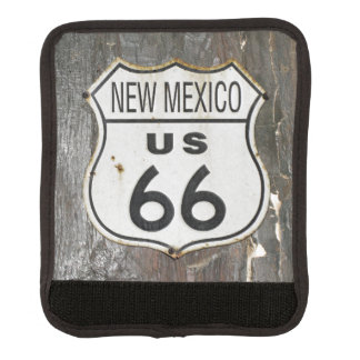 Vintage New Mexico Route 66 Sign Luggage Handle Wrap