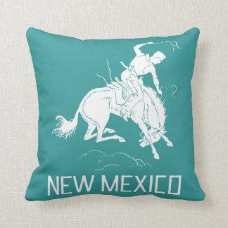 Vintage New Mexico Throw Pillow