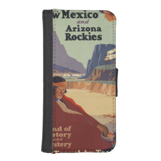 Vintage New Mexico Travel Poster Wallet Phone Case For iPhone SE/5/5s