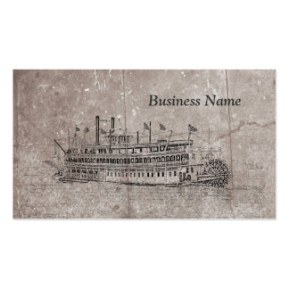 Vintage New Orleans Stern Wheeler Business Cards