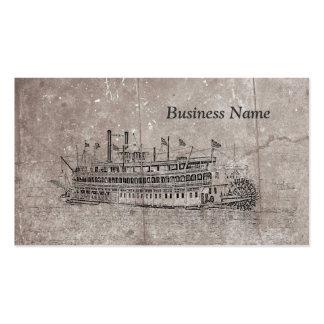 Vintage New Orleans Stern Wheeler Business Cards