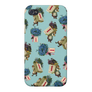 Vintage New Year iPhone 4/4S Case