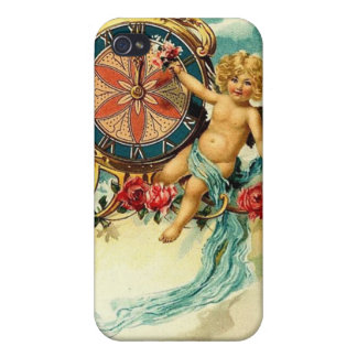 Vintage : New Year - iPhone 4 Case
