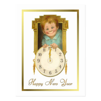 Vintage New Year Post Cards