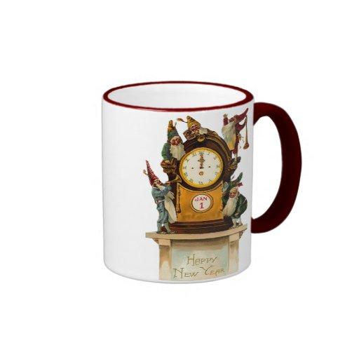 Vintage New Years Eve Mug