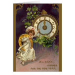 Vintage New Year's Greeting Cards