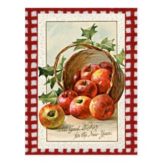 Vintage New Years Greeting postcard