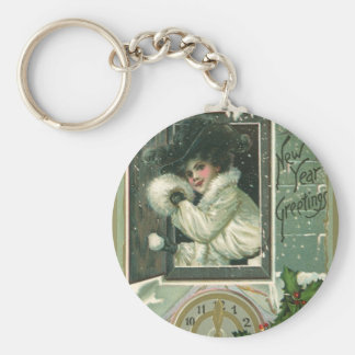 Vintage New Year's Key Chains