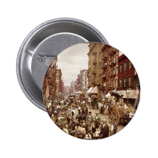 Vintage New York 1890 Pinback Buttons