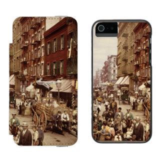 Vintage New York 1890 iPhone SE/5/5s Wallet Case