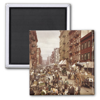 Vintage New York 1890 Magnet