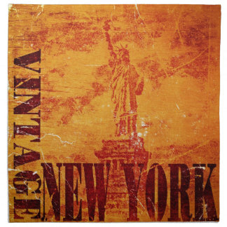 Vintage New York #2 - Cloth Napkins