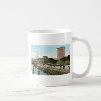 Vintage New York, Battery Park Coffee Mug