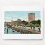 Vintage New York, Battery Park Mouse Pads