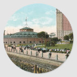 Vintage New York, Battery Park Sticker