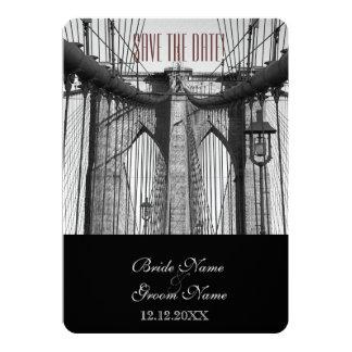 Vintage New York Brooklyn Bridge Card