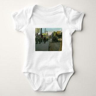 Vintage New York City 1900 Trolley Baby Bodysuit