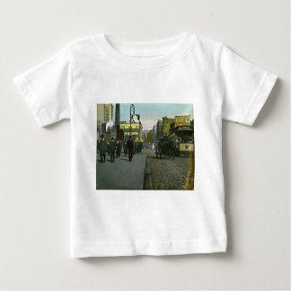 Vintage New York City 1900 Trolley Baby T-Shirt