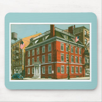 Vintage New York City Building Mouse Pad