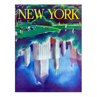 Vintage New York City Central Park Travel Postcard