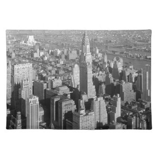Vintage New York City Cloth Placemat