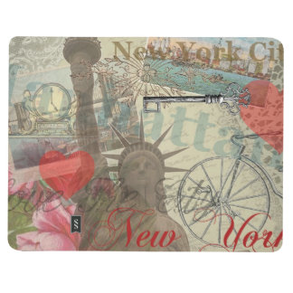 Vintage New York City Collage Journal