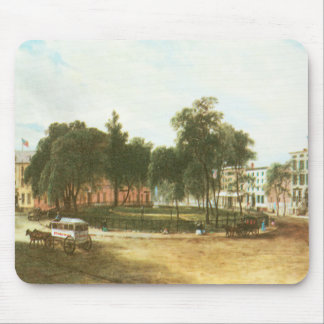 Vintage New York City, Horse & Buggy Mouse Pad