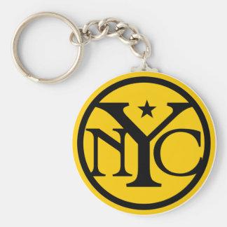 Vintage New York City Logo Keychain