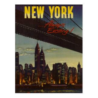Vintage New York City, los E.E.U.U. - Tarjetas Postales