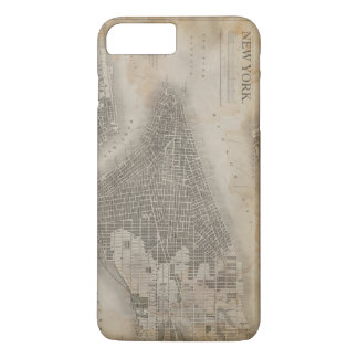 Vintage New York City Map iPhone 7 Plus Case