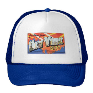 Vintage New York City Mens Hat