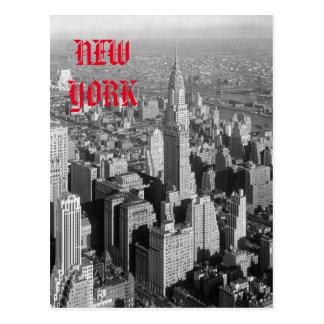 Vintage New York City Panorama Post Card