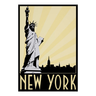Vintage New York City Poster