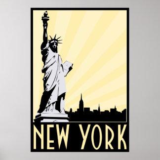 Vintage New York City Póster