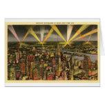 Vintage New York City Skyline