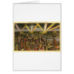 Vintage New York City Skyline Card