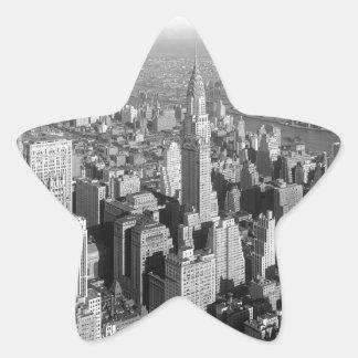 Vintage New York City Star Sticker