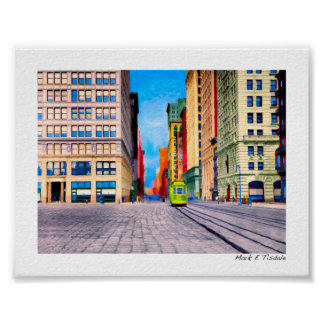 Vintage New York City - Union Square - Mini Posters