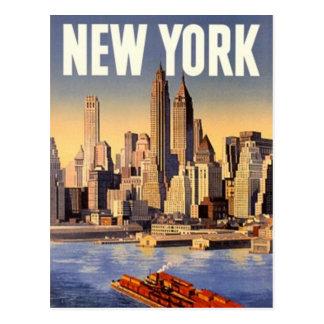 Vintage New York City, USA - Post Card