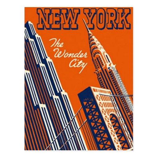 Vintage New York City, USA - Post Cards