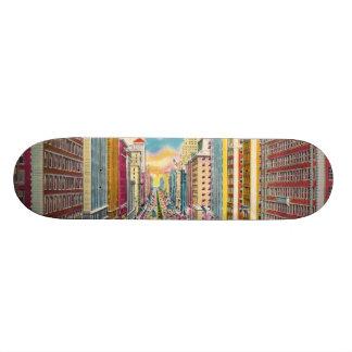 Vintage New York City, USA - Skateboard Deck