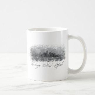 Vintage New York Classic White Coffee Mug