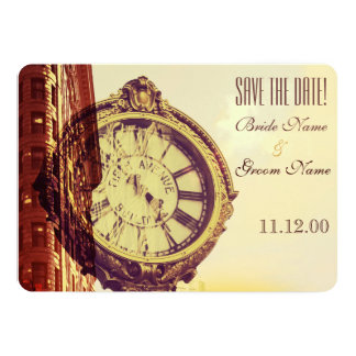 Vintage New York fifth avenue Custom Invitation