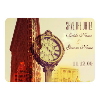 Vintage New York fifth avenue Invite
