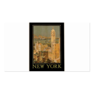Vintage New York from Glasgow Business Cards
