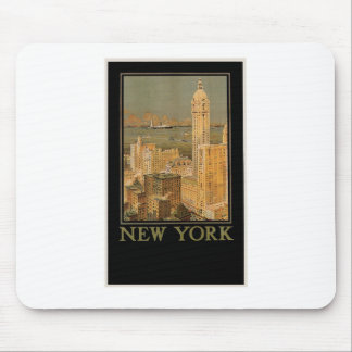 Vintage New York from Glasgow by the Anchor Line Mouse Pad